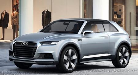 Audi Q2 forfra