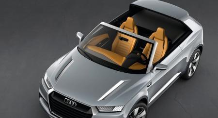 Audi Q2 uten tak