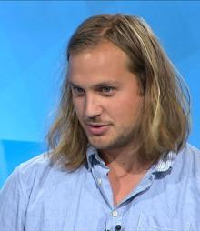 SUKKERSØT: Blogger og TV-kokk Espen Nersveen har ingen planer om å innføre stevia i sitt kjøkken.  (Foto: Ettermiddagen )