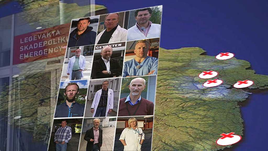 ALENE PÅ JOBB: TV 2 dokumenterte mandag at 85 prosent av norske legevaktsleger som var på vakt søndag kveld, jobbet helt alene.