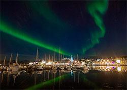 I Tromsø var nordlyssesongen i gang 5. september. (Foto: Truls   Melbye Tiller)