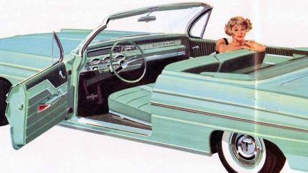 Brede biler, automatgir og servostyring som gjør sjåføren mindre avhengig av