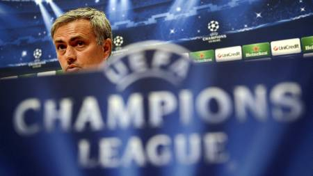 SULTEN: Wikestad tror Mourinho er svært sugen på et nytt Mesterliga-trofé. (Foto: FRANCK FIFE/Afp)
