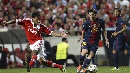 Messi (Foto: FRANCISCO LEONG/Afp)