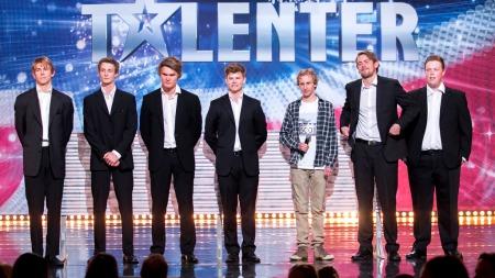 Punchline i Norske Talenter (Foto: Thomas Reisæter/TV 2)