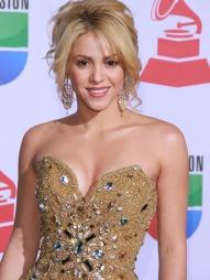 OVERLYKKELIG: Shakira og kjæresten Gerard Piqué venter en sønn neste år.  (Foto: FG)