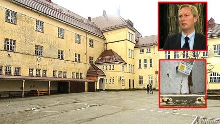 FORFALLER: 19 skoler i Bergen mangler godkjent inneklima.  (Foto: TV 2)
