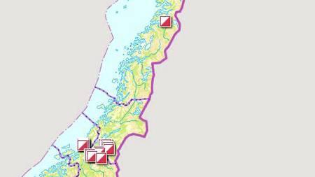 NORGE RUNDT: Turorienteringsløyper, her illustrert med postmarkeringer, finnes i og rundt alle landets største byer. (Foto: Illustrasjon: Eliksir AS/)