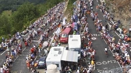 Alpe   d Huez 2004 (Foto: CHRISTOPHE ENA/AP)