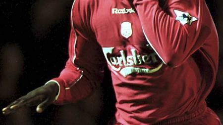 GLANSDAGENE: Emile Heskeys første sesong i Liverpool var karrierens beste. (Foto: Mike Egerton/Pa Photos)