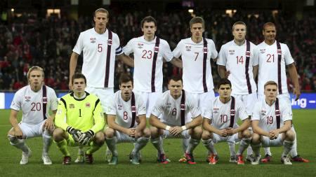 Norges lag mot Sveits (Foto: Larsen, Håkon Mosvold/NTB scanpix)