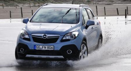 Opel Mokka detalj actionfoto