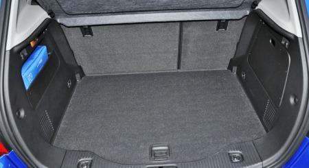 Opel Mokka interiør bagasjerom