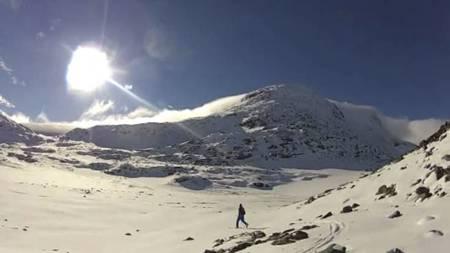 HERLIGE FORHOLD: Slik så det ut på Sognefjellet 5. september.   I helgen er det meldt mer solskinn på fjellet i Sør-Norge. (Foto: Privat/)