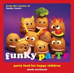 Det som startet med sandwicher har etterhvert utviklet seg til   en rekke festlige retter. Mange av dem kan du se i marks nye book, Funky   Party.