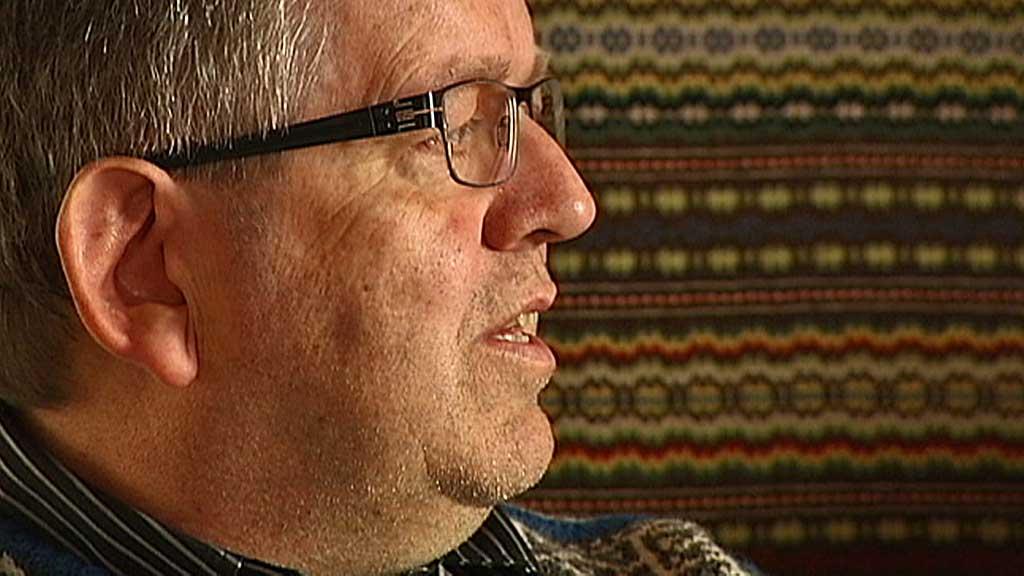 FERDIG: Rune Øygard valgte mandag å trekke seg fra vervet som ordfører i Vågå etter at han ble funnet skyldig i overgrep mot en mindreårig jente. (Foto: Olav T. Hustad Vold/TV 2)