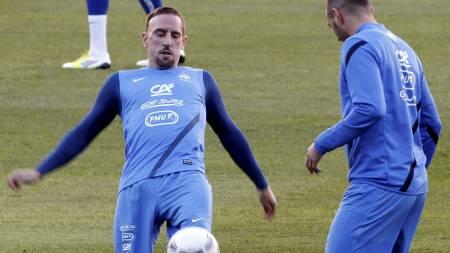 Franck Ribery (Foto: SERGIO PEREZ/Reuters)