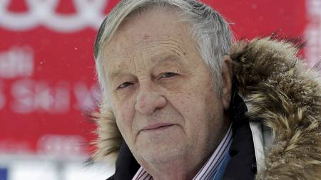 Presidenten i Det internasjonale skiforbundet (FIS), Gian Franco   Kasper. (Foto: Arno Balzarini/Ap)
