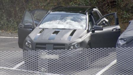 Mercedes GLA 001 (Foto: Scoopy)