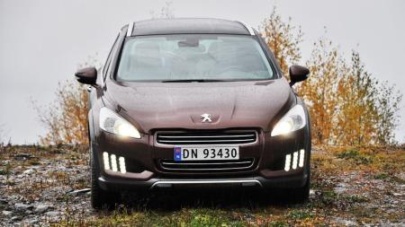 Peugeot RXH rett forfra