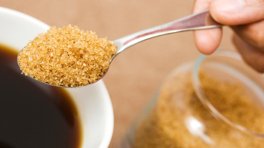 brunt-sukker-