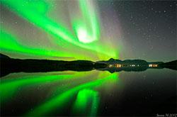 Nordlys i Malangen. (Foto: Sverre M. Kanstad)