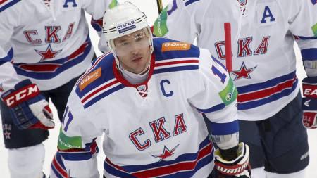 Ilja Kovaltsjuk - SKA St. Petersburg. (Foto: MAXIM SHEMETOV/Reuters)