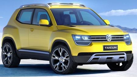 Skoda skal få sin egen versjon av kommende VW Taigun (bildet) - kanskje er navnet Polar.
