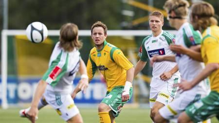 Kristian Flittie Onstad spilte hele kampen mot Tromsdalen - en uke etter at Arne Erlandsen uttalte at han ikke kom til å spille mer med ham som trener. (Foto: Grøtt, Vegard/NTB scanpix)