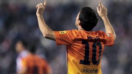 SUVEREN: Lionel Messi. (Foto: Lalo R. Villar/Ap)