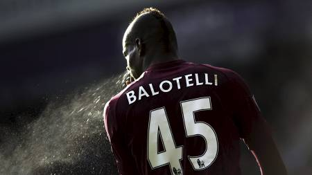 Mario Balotelli (Foto: ADRIAN DENNIS/Afp)