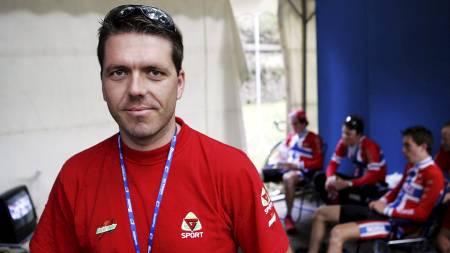 VM i Verona ble ingen sukess for U-23 syklistene Håvard Nybø, Stian Remme og Christopher Myhre. Landslagsjef Svein Gaute Hølestøl måtte konstatere at ingene av dem kom i mål på fredagens fellestart. (Foto: Poppe, Cornelius/NTB scanpix)