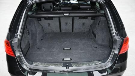 3-serie Touring interiør bagasjerom