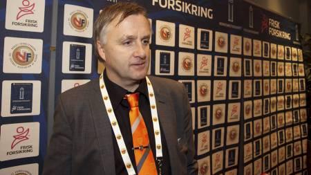 Klubbdirektør Henrik Hoff i Aalesund mener at forbundsstyret i NFF overkjørte Tippeliga-klubbene da de fastsatte terminlisten for 2013. (Foto: Ekornesvåg, Svein Ove/NTB scanpix)