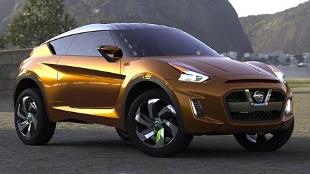 Halvt SUV/crossover - og halvt sportsbil. Det er utgangspunktet til Nissan Extrem.