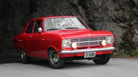 Denne bilen skal få lov til å forbli i originalstand, og skal tas vare på, forsikrer eieren. (Foto: Privat)