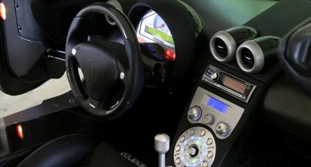 Koenigsegg interiør