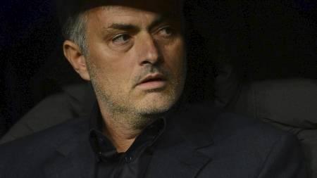UNDER PRESS? José Mourinho. (Foto: PIERRE-PHILIPPE MARCOU/Afp)