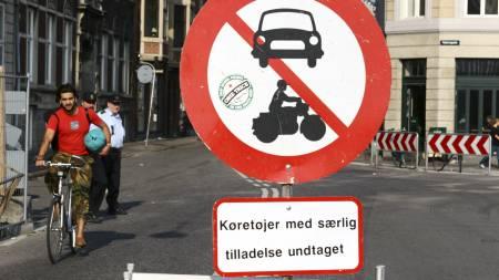 SYKKELBY: København er kjent for å være en sykkelby der bilene   må vike til fordel for tohjulinger. (Foto: Illustrasjon/Colourbox/colourbox.com)