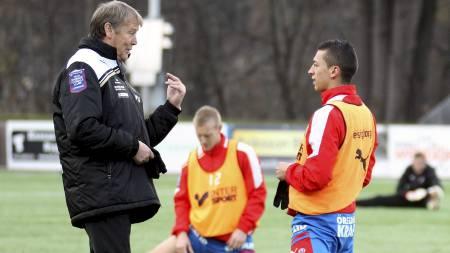 Åge Hareide og Nikola Djurdjic (Foto: Wahlman, Pernilla/NTB scanpix)