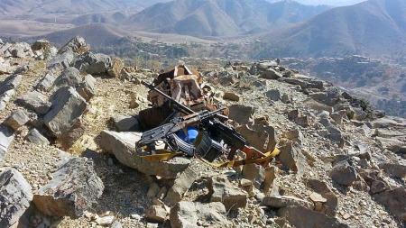Bildene er trolig tatt i grenseområdet mellom Afghanistan og Pakistan.