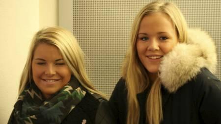 Erle og Pernille (Foto: Marianne Ahlsen/)