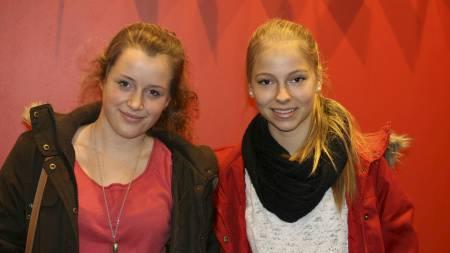 Linn og Senay (Foto: Marianne Ahlsen/)
