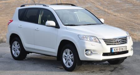 Toyota RAV4 skrått forfra II