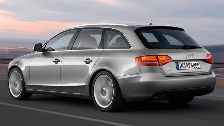 Audi A4 rykket opp fra 8 til 3 plass.
