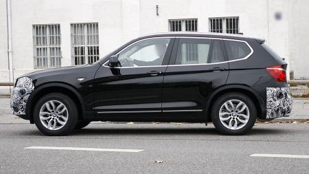 Andre generasjon X3 er en stor sukess for BMW, salget har også tatt skikkelig av i Norge. (Foto: Scoopy)