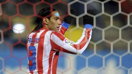 FALCAO: Er en ettertraktet mann i Fotball-Europa. (Foto: DOMINIQUE FAGET/Afp)