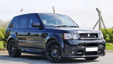 Slik kan en Range Rover Revere se ut - hvis den ikke er kjørt inn i en varebil av en sjåfør med promille da ...