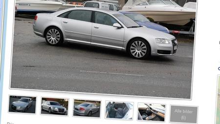 Audi A8 annonse