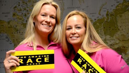 Cecilie og Camilla i The Amazing Race Norge (Foto: Sandra Mei Ling Noer/TV 2)